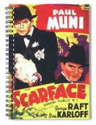 Scarface 1932 French Revival Unknown Date Spiral Notebook