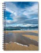 Scarista Beach Isle Of Harris Spiral Notebook