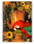 Scarlet Badboy Spiral Notebook