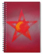 Scarlet Vermillion Spiral Notebook