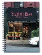 Scarlett  Rose Spiral Notebook