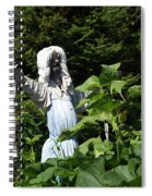 Scary Scarecrow Spiral Notebook