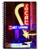 Scatt Jazz Lounge 030318 Spiral Notebook