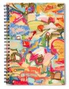 Scattered Spiral Notebook