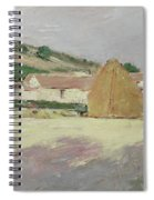 Scene At Giverny, 1890 Spiral Notebook