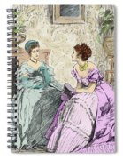 Scene From Anthony Trollope's Novel He Knew He Was Right Spiral Notebook