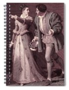 Scene From Much Ado About Nothing By William Shakespeare Spiral Notebook