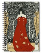 Scene From Tannhauser By Richard Wagner Spiral Notebook