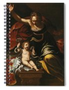 Scene From The Childhood Of Hercules Spiral Notebook