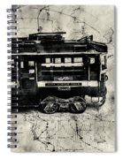 Scene From The Old Tramway Spiral Notebook