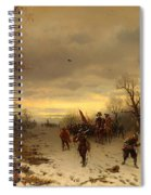 Scene From The Thirty Years War Spiral Notebook