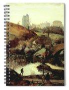 Scene In Central Park Spiral Notebook