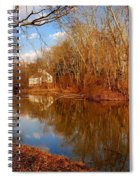 Scene In The Forest - Allaire State Park Spiral Notebook