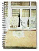 Scene Of Daily Life Spiral Notebook