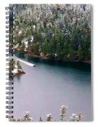 Scene Over Diablo Lake Spiral Notebook