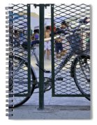 Scene Through The Gate Spiral Notebook