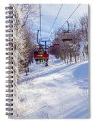Scenery Around Timberline Ski Resort West Virginia Spiral Notebook