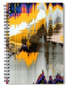 Scenes At The Lake Spiral Notebook