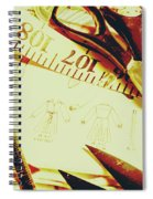 Scenes From A Seamstress Spiral Notebook