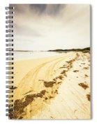 Scenic Coastal Calm Spiral Notebook