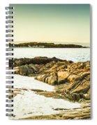 Scenic Coastal Dusk Spiral Notebook