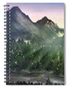 Scenic Drive Spiral Notebook