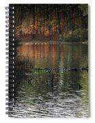 Scenic Elder Lake Spiral Notebook