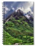 Scenic Glen Coe Spiral Notebook