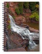 Scenic Gooseberry Falls Spiral Notebook