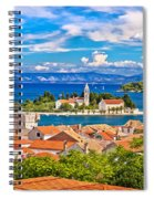 Scenic Island Of Vis Waterfront Spiral Notebook