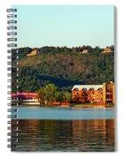 Scenic Lake Guntersville Spiral Notebook
