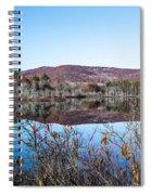 Scenic Lake On The Kancamangus Spiral Notebook