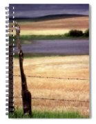Scenic Saskatchewan Landscape Spiral Notebook