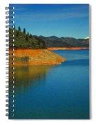 Scenic Shasta Lake Spiral Notebook