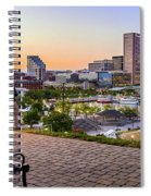 Scenic View From Federal Hill Spiral Notebook