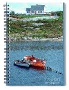 Scenic Village Spiral Notebook