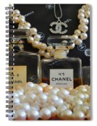 Scent Of A Woman Spiral Notebook