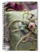Scent Of Roses Spiral Notebook