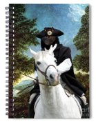 Schipperke Art Canvas Print - The Danube Valley Near Regensburg Spiral Notebook