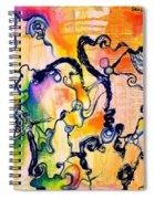 Schlieren Chiarascuro Spiral Notebook