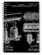 Schmidts Of Philadelphia Cold Beer Tap In Black Spiral Notebook