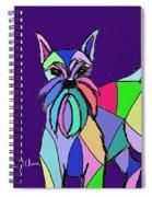 Schnauzer Colors Spiral Notebook