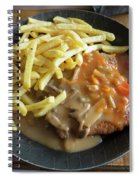 Schnitzel With Two Sauces Spiral Notebook
