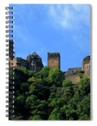 Schoenburg Castle Oberwesel Germany Spiral Notebook