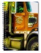 Schoenecker Trucking Spiral Notebook