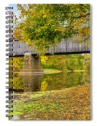 Schofield Bridge Over The Neshaminy Spiral Notebook