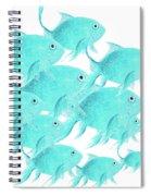 School Of Fish Spiral Notebook