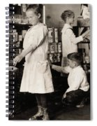 School Store, 1917 Spiral Notebook