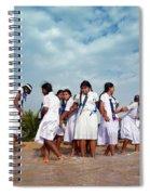School Trip To Beach II Spiral Notebook