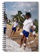 School Trip To Beach IIi Spiral Notebook